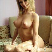 Nice female with big natural breast photo