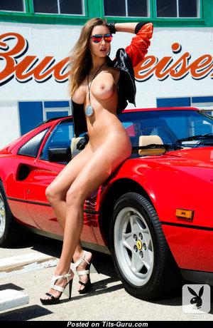 Alyssa Arcè - Pleasing Topless & Glamour Brunette with Huge Nipples (Hd Porn Photoshoot)