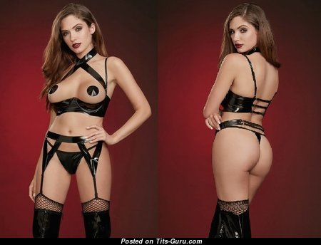 Perfect Nude Brunette in Lingerie (Sexual Photoshoot)