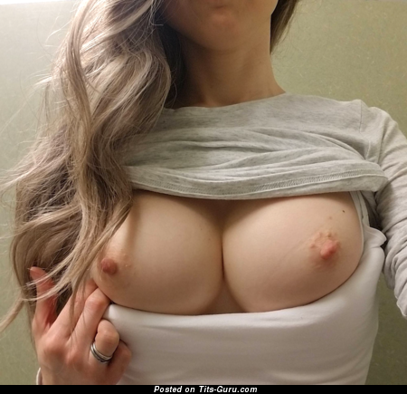 Lovely Topless Honey with Lovely Bare Normal Busts (Private Selfie Hd 18+ Image)