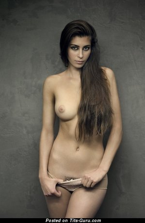 Image. Nude awesome woman with medium natural tits image