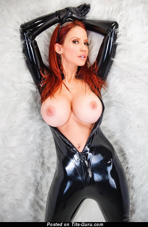 Handsome Red Hair with Handsome Bald Round Fake G Size Knockers (Hd Xxx Pix)