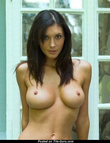Image. Naked wonderful girl with medium breast picture