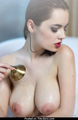 Image. Nude wonderful female with big natural boobies image