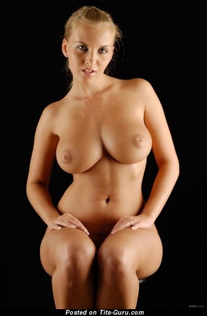 Image. Nude hot woman with natural tits photo