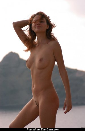 Image. Wonderful girl with natural breast pic