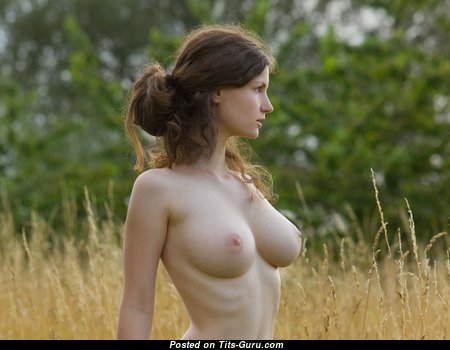 Alluring Babe with Alluring Open Real Knockers (Hd Porn Picture)