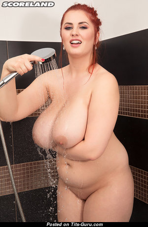 Alexis Faye - Appealing Topless, Glamour & Wet Pornstar & Babe with Appealing Nude Real Tit & Big Nipples in the Shower (Hd Sexual Pic)