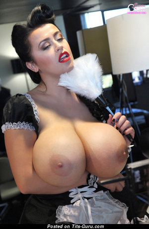 Leanne Crow - Graceful British Pornstar with Graceful Bare Monumental Tittes (Hd Sexual Image)