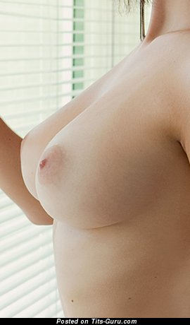 Image. Nude wonderful girl with medium natural tittys photo