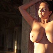 Ewa Sonnet - wonderful lady with big natural breast image