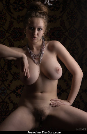 Aneli A - Magnificent Topless & Glamour Blonde with Magnificent Bare Natural Firm Balloons & Pointy Nipples (Hd Xxx Image)