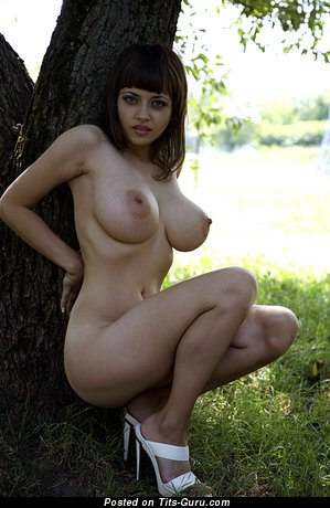 Image. Lidia - sexy nude brunette with big tittys picture