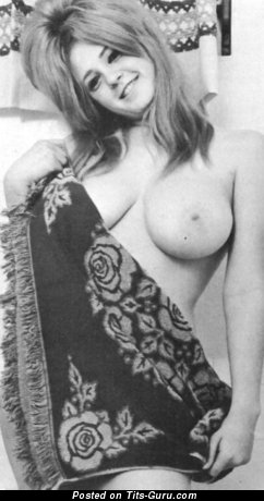 Naked wonderful girl with big natural tittes vintage