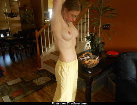 Marvelous Wife with Marvelous Bare Natural Minuscule Jugs (Hd Sexual Picture)