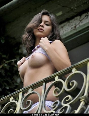Image. Awesome female with big natural boob picture