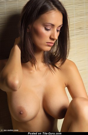 Zsuzsanna Ripli - sexy nude amazing woman with medium natural tittys picture