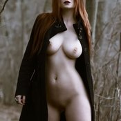 Awesome female with natural tittes photo