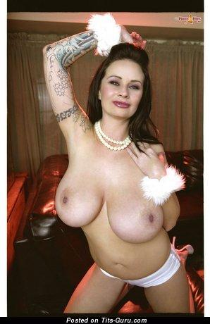 Naked amazing girl with big tittys image