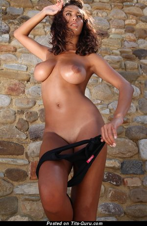 Image. Beautiful woman with big tots picture