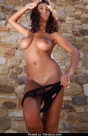 Image. Naked nice lady with big tits photo