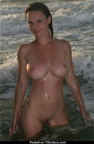 Lucie - Perfect Wet Brunette with Perfect Exposed Regular Chest (Hd Xxx Photo)