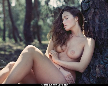 Image. Awesome girl with natural boobs image