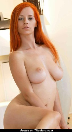Ariel Piper Fawn - Lovely Czech Red Hair Babe & Pornstar with Lovely Open Real Average Busts & Long Nipples (Hd Xxx Foto)