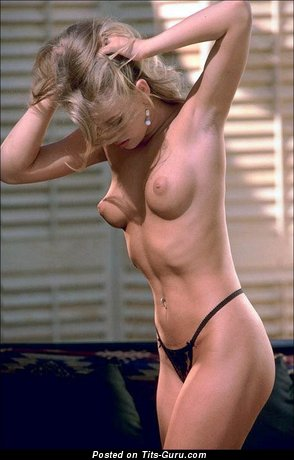 Image. Nude nice girl with natural tittes photo