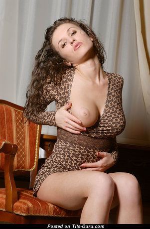 Albina Kalmyk - Stunning Russian Woman with Stunning Exposed Real Average Tit (Hd Sex Photo)