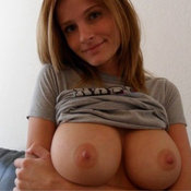 Amazing lady with big tittys photo