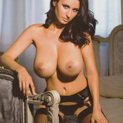 Sammy Braddy - sexy nude red hair with medium natural tittes picture