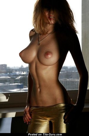 Image. Awesome female with big natural boobs picture