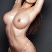 Asian brunette with medium tittys picture