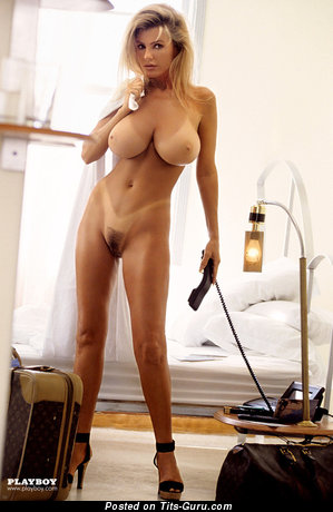 Image. Sexy naked blonde with big boobies picture