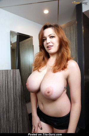 Tessa Fowler - Delightful Topless American Red Hair Pornstar, Babe & Girlfriend with Delightful Bare Real Monumental Chest & Puffy Nipples (Hd 18+ Picture)