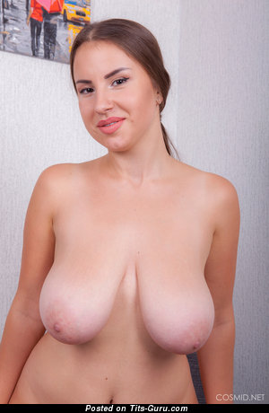 Alesya - nude wonderful girl with big natural boobies picture