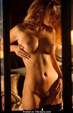 Image. Tyran Richard - sexy nude awesome woman with big fake boobies picture
