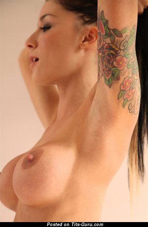 Image. Pipa Suicidegirls - nude wonderful woman with medium fake tittys and tattoo picture