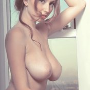 Amazing lady with big natural boobies picture