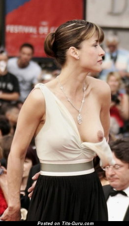 Image. Sophie Marceau - naked awesome woman with medium natural boob picture
