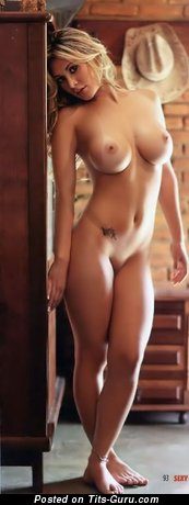 Image. Nude awesome female with medium breast image