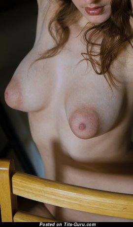 Image. Nude nice female with medium natural boobies pic