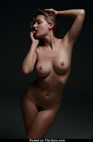 Image. Nice female with medium natural tittes pic