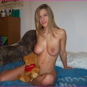 Wonderful woman with big natural breast photo