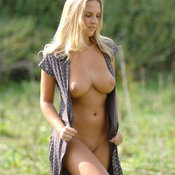 Amazing female with natural breast picture
