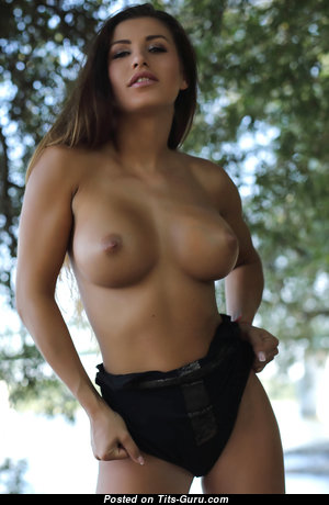 Allison - Sweet Topless American Red Hair with Sweet Defenseless Fake Normal Titties (Hd Sexual Pic)