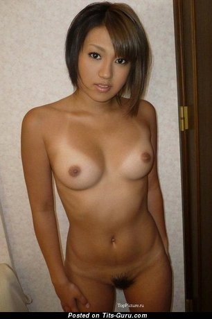 Image. Beautiful girl with medium natural tittes photo
