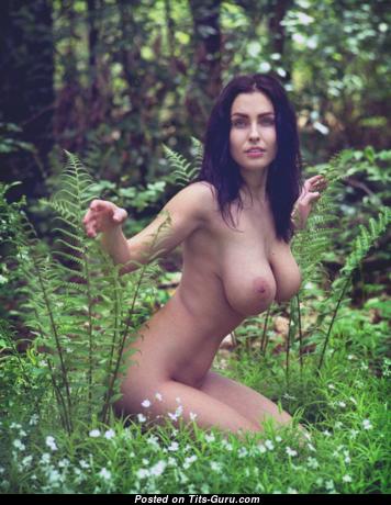 Dagmara Bajura - Nice Topless Polish Red Hair with Nice Naked Natural Average Titties (Xxx Image)