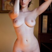 Hot female with big natural tittes image